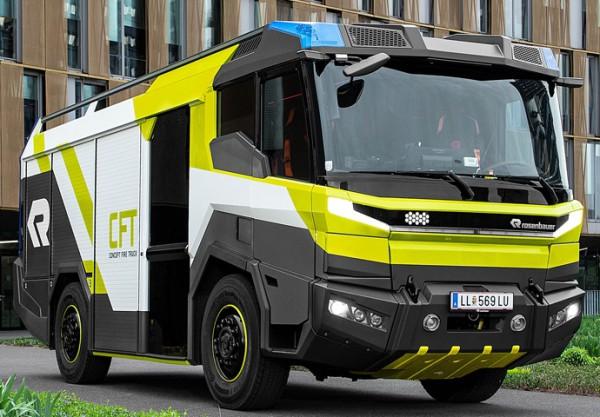 пожарный автомобиль на электротяг