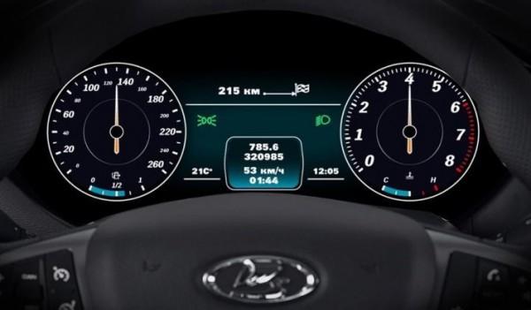 приборная панель для Lada Vesta
