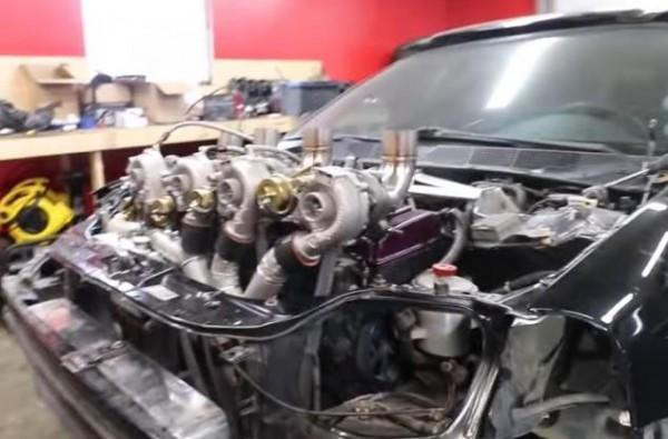 Honda Civic, четыре турбины