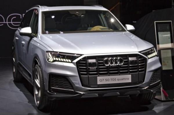 Audi Q7, американский