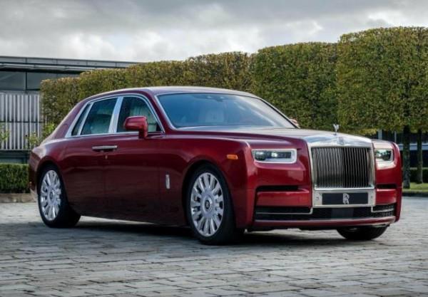 Rolls-Royce, хрустальная краска