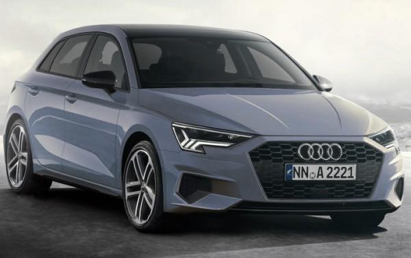 Audi A3, новый седан