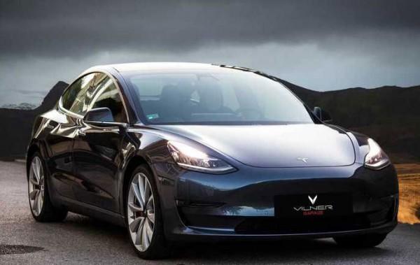 Vilner, электрокар Tesla Model 3