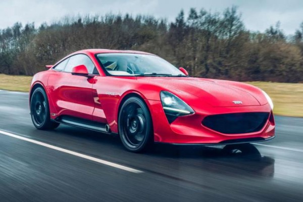 TVR Griffith, купе