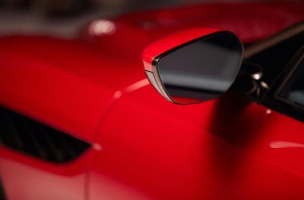 Aston Martin, зеркало