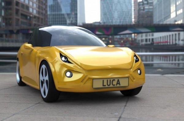 биоразлагаемый автомобиль Lina