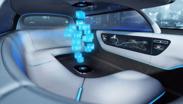 Audi, трехмерное жилое пространство в авто