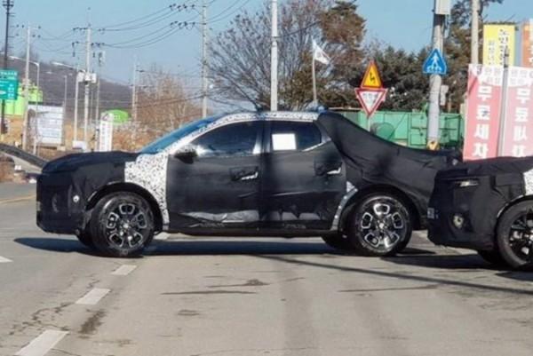 Hyundai Santa Cruz, пикап, тесты