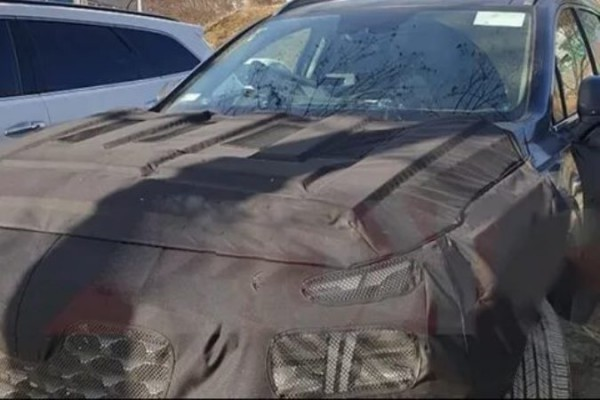 Hyundai Santa Fe обновленный