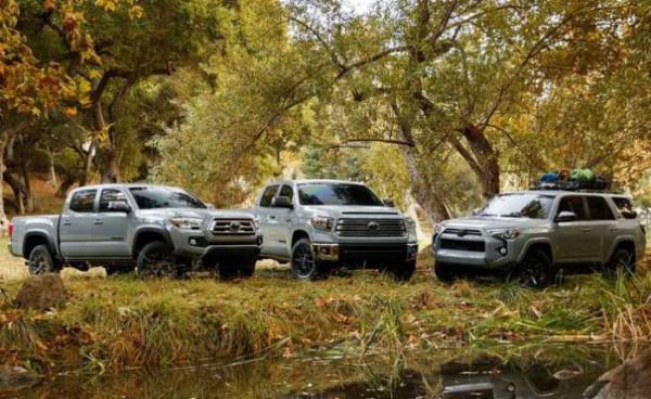 Toyota, спецверсия Trail Edition