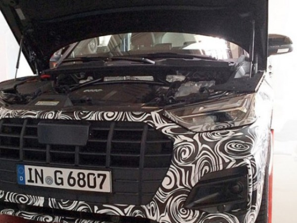 Audi Q5, новый