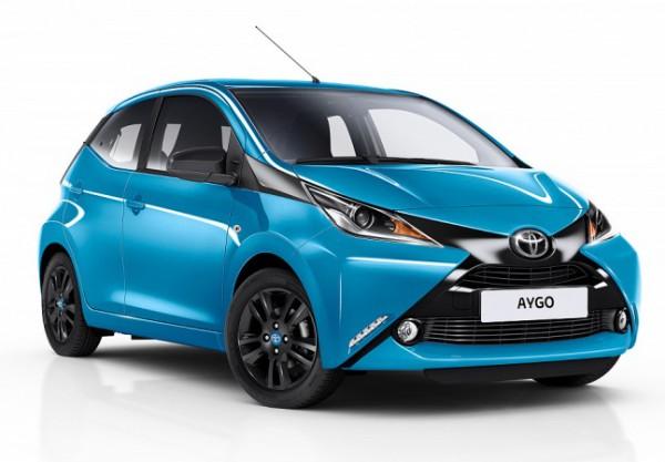 Toyota Aygo, хэтчбек