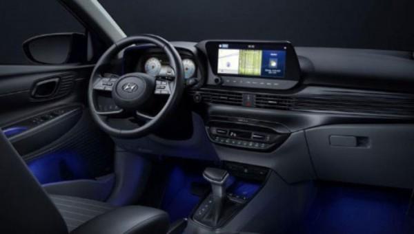Hyundai i20, интерьер