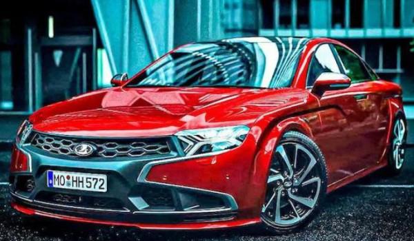 Lada Vesta в стиле Audi