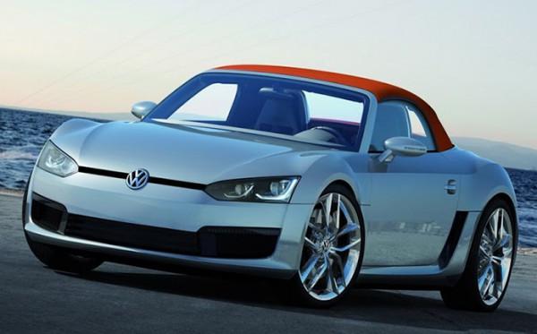 Volkswagen, спорткар