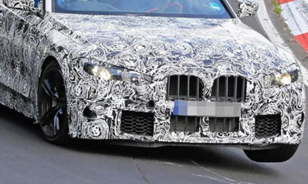 BMW M3, камуфляж