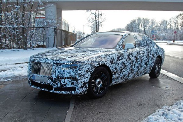 Rolls-Royce Ghost, новый