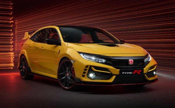 Honda Civic Type R 2020 года