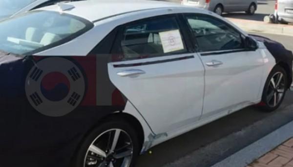 Hyundai Elantra, тест