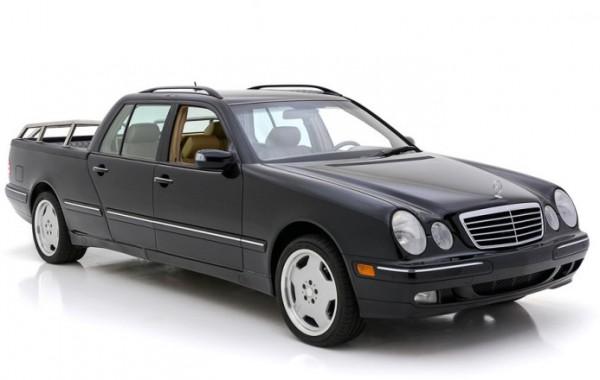Mercedes-Benz E-Class, пикап