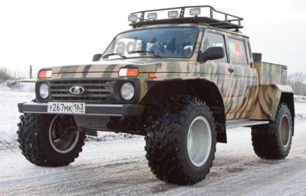 Lada 4x4, версия, злая