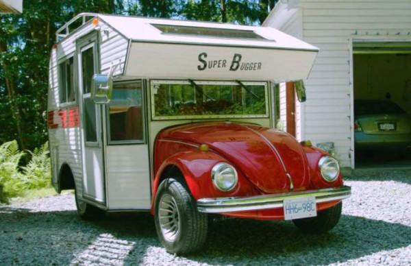 Volkswagen Beetle, кемпер
