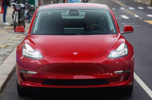Tesla, электромобиль