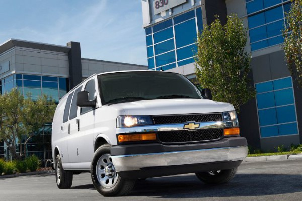 Chevrolet Express, фургон