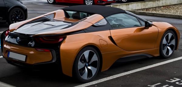 BMW i8, родстер