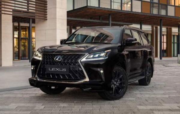 Lexus LX 570 Black Vision