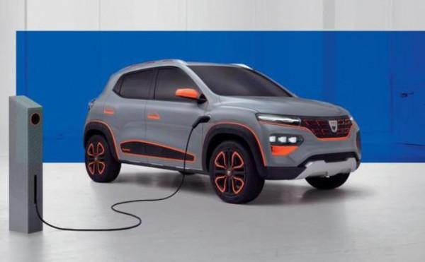 Dacia Spring, электрокар