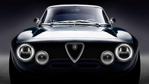 уникальный рестомод, из Alfa Romeo GT Junior 1300