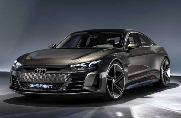Audi E-Tron GT 2021 года
