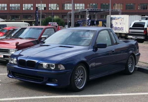 BMW, уникальный пикап