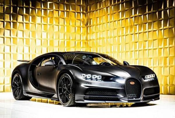 Bugatti Chiron, продержанный