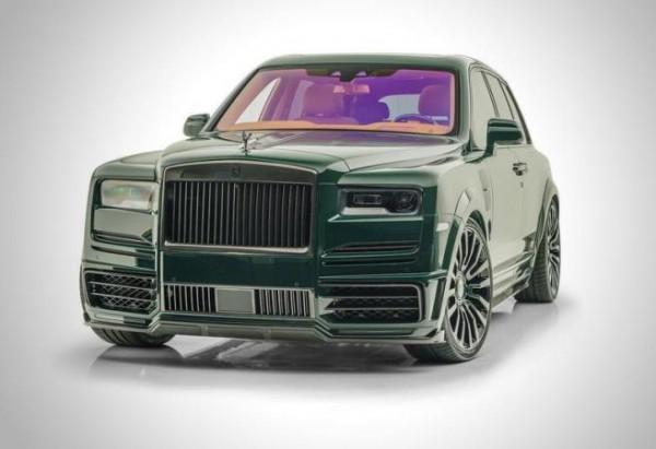 Rolls-Royce Cullinan, гоночный цвет