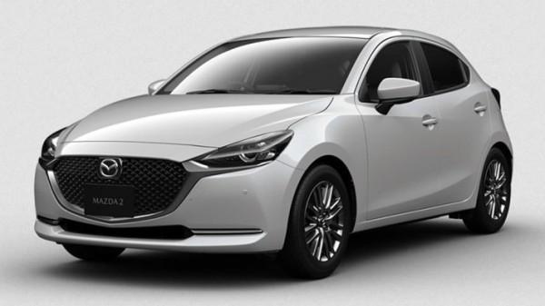 Mazda 2, белая