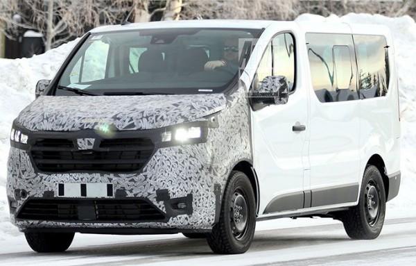 Renault Trafic, фургон, тест