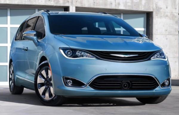 Chrysler Pacifica, минивэн