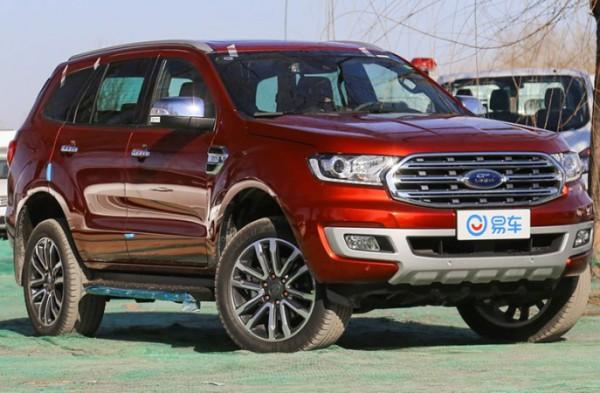 Ford Everest, внедорожник, 2021
