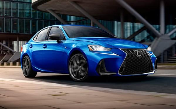 Lexus IS. новый