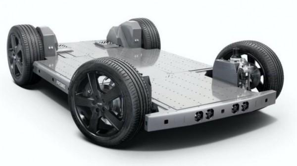 EV, новая подвеска, платформа электрокаров