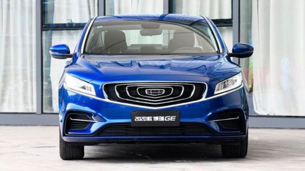 Geely GE, новый седан