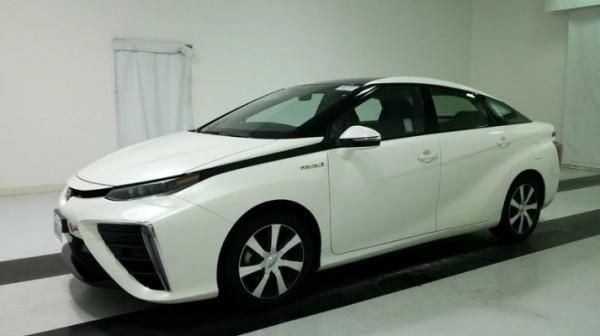 Toyota, водородное топливо