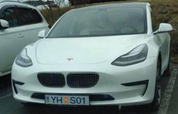 Tesla Model 3, ноздри BMW