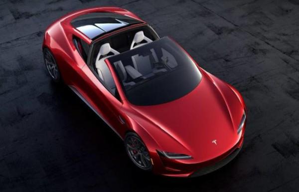 Tesla Roadster, электрокар, спорт