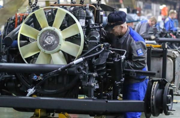КамАЗ, дизельный V8