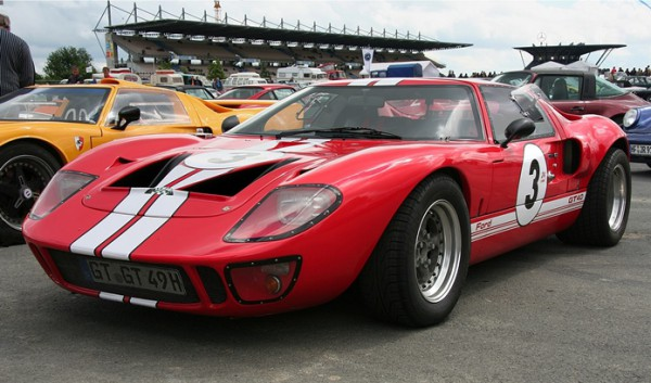 Ford GT40, гоночный