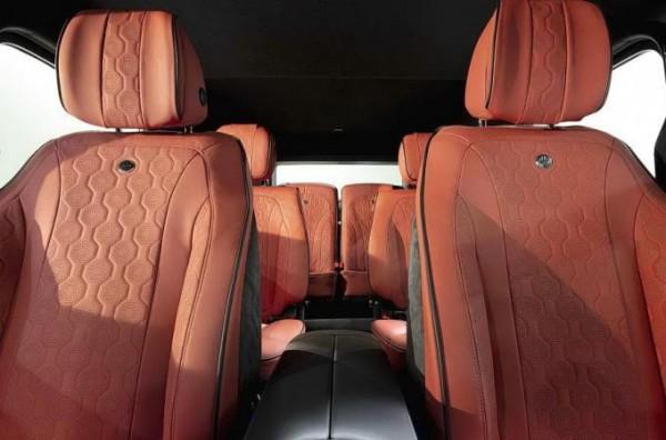 Mercedes-Benz G-Class, салон, шестиместный