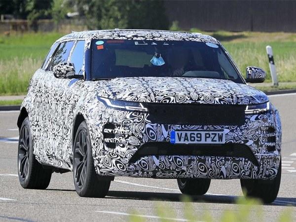 Range Rover Evoque, семиместный, тест